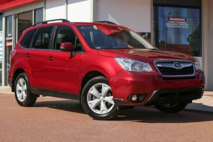 2015 Subaru Forester S4 MY15 2.5i-L CVT AWD Red 6 Speed Constant Variable Wagon Osborne Park Stirling Area Preview