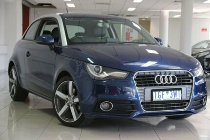 2011 Audi A1 8X MY11 Ambition Blue 6 Speed Manual Hatchback South Melbourne Port Phillip Preview