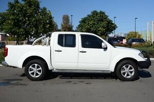 2011 Nissan Navara D40 ST White 6 Speed Manual Utility Moorooka Brisbane South West Preview