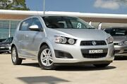 2012 Holden Barina TM MY13 CD Nitrate 5 Speed Manual Hatchback Baulkham Hills The Hills District Preview