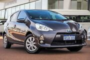 2014 Toyota Prius c NHP10R E-CVT Graphite 1 Speed Constant Variable Hatchback Hybrid Wangara Wanneroo Area Preview