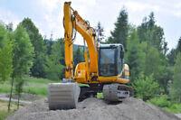 Excavation pour petits ou moyens travaux