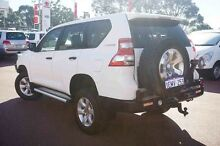 2014 Toyota Landcruiser Prado KDJ150R MY14 GX White 5 Speed Sports Automatic Wagon Balcatta Stirling Area Preview