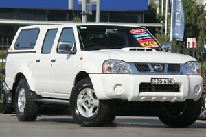 2012 Nissan Navara D22 S5 ST-R White 5 Speed Manual Utility Penrith Penrith Area Preview