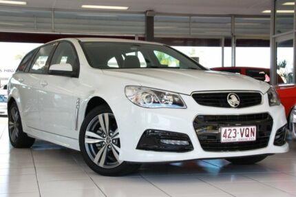 2014 Holden Commodore VF MY14 SV6 Sportwagon White 6 Speed Auto Seq Sportshift Wagon Springwood Logan Area Preview