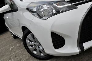 2015 Toyota Yaris NCP130R Ascent White 5 Speed Manual Hatchback Mosman Mosman Area Preview
