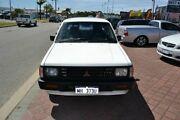 1996 Mitsubishi Triton GL White 5 Speed Manual Dual Cab East Rockingham Rockingham Area Preview