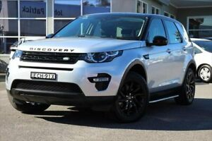 2016 Land Rover Discovery Sport L550 16.5MY Td4 SE Silver 9 Speed Sports Automatic Wagon Port Macquarie Port Macquarie City Preview