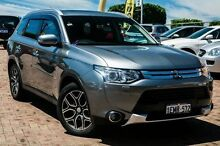 2014 Mitsubishi Outlander ZJ MY14.5 Aspire 4WD Grey 6 Speed Constant Variable Wagon Embleton Bayswater Area Preview
