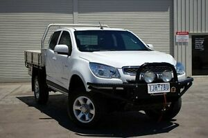 2012 Holden Colorado RG MY13 LX Space Cab White 5 Speed Manual Cab Chassis Seaford Frankston Area Preview