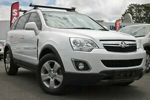 2011 Holden Captiva CG Series II 5 AWD White 6 Speed Sports Automatic Wagon Dandenong Greater Dandenong Preview