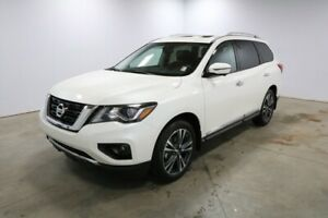 2019 Nissan Pathfinder 4X4 PLATINUM V6 Heated leather seats, 8 i