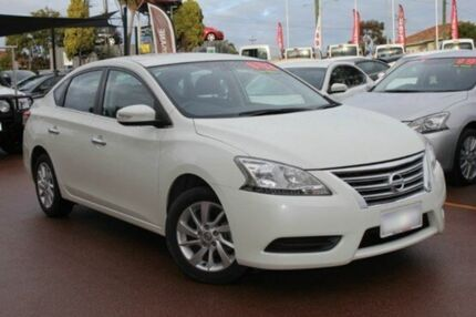 2013 Nissan Pulsar B17 ST Diamond White 1 Speed Constant Variable Sedan Willagee Melville Area Preview