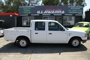 2004 Ford Courier PG GL White 4 Speed Automatic 4D UTILITY Barrack Heights Shellharbour Area Preview