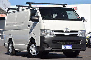 2011 Toyota Hiace KDH201R MY11 LWB French Vanilla 4 Speed Automatic Van Glendalough Stirling Area Preview