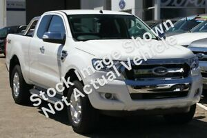 2017 Ford Ranger PX MkII XLT Super Cab White 6 Speed Manual Utility Brighton Bayside Area Preview