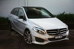 2016 Mercedes-Benz B200 Silver Sports Automatic Dual Clutch Hatchback Burwood Whitehorse Area Preview