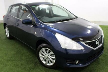 2015 Nissan Pulsar C12 Series 2 ST Blue 1 Speed Constant Variable Hatchback Moonah Glenorchy Area Preview
