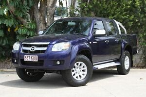 2007 Mazda BT-50 UNY0E3 SDX Blue 5 Speed Automatic Utility Underwood Logan Area Preview