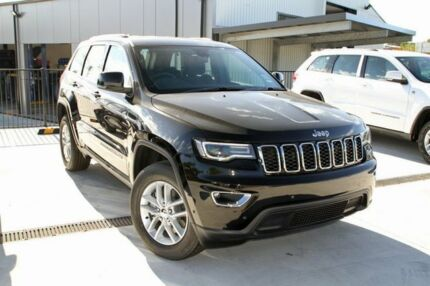 2017 Jeep Grand Cherokee WK MY17 Laredo (4x4) Black 8 Speed Automatic Wagon