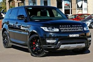 2014 Land Rover Range Rover Sport L494 MY14.5 SDV6 CommandShift Autobiography Black 8 Speed Sports A McGraths Hill Hawkesbury Area Preview