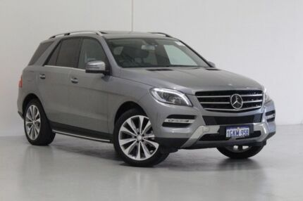 2012 Mercedes-Benz ML 166 350 CDI Bluetec (4x4) Graphite 7 Speed Automatic Wagon