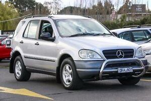 2000 Mercedes-Benz ML320 W163 MY2000 Luxury Silver 5 Speed Sports Automatic Wagon Ringwood East Maroondah Area Preview