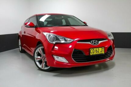 2012 Hyundai Veloster FS2 Coupe Veloster Red 6 Speed Manual Hatchback