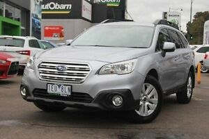 2015 Subaru Outback B6A MY15 2.0D CVT AWD Silver 7 Speed Constant Variable Wagon Nunawading Whitehorse Area Preview