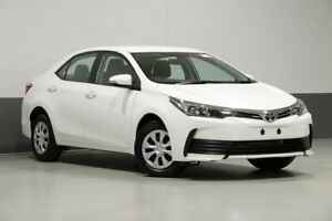 2018 Toyota Corolla ZRE172R MY17 Ascent White 7 Speed CVT Auto Sequential Sedan Bentley Canning Area Preview