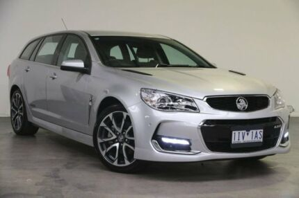 2016 Holden Commodore VF II MY16 SS V Sportwagon Silver 6 Speed Sports Automatic Wagon