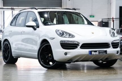 2013 Porsche Cayenne 92A MY14 S Tiptronic Diesel White 8 Speed Sports Automatic Wagon Port Melbourne Port Phillip Preview