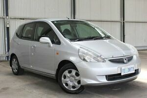 2005 Honda Jazz GD MY05 VTi Silver 5 Speed Manual Hatchback Invermay Launceston Area Preview