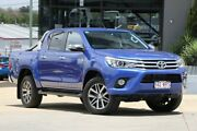 2016 Toyota Hilux GUN126R SR5 Double Cab Blue 6 Speed Sports Automatic Utility Moorooka Brisbane South West Preview