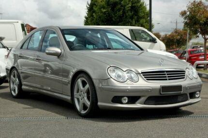 2006 Mercedes-Benz C55 W203 MY2006 AMG Tenorite Grey 5 Speed Sports Automatic Sedan