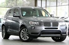2011 BMW X3 F25 xDrive 30D Grey 8 Speed Automatic Wagon Roseville Ku-ring-gai Area Preview