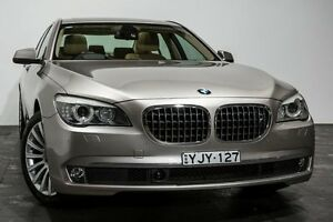 2010 BMW 730D F01 MY0910 Steptronic Champagne 6 Speed Sports Automatic Sedan Rozelle Leichhardt Area Preview
