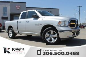 2014 Ram 1500 SLT - Cloth 40/20/40 Front Bench - Quad Cab - 5.7L