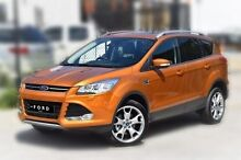 2014 Ford Kuga TF MY15 Titanium PwrShift AWD Gold 6 Speed Sports Automatic Dual Clutch Wagon Berwick Casey Area Preview