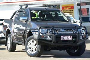 2014 Mitsubishi Triton MN MY15 GLX-R Double Cab Warrior Ironbark 5 Speed Sports Automatic Utility Woolloongabba Brisbane South West Preview