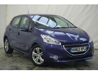 2012 Peugeot 208 1.4 ACTIVE 5d 95 BHP Petrol blue Manual