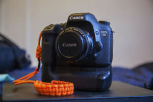 Canon 7D with Battery grip