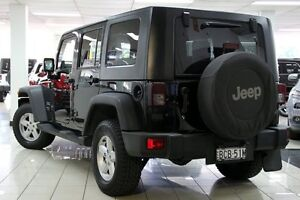 2007 Jeep Wrangler Unlimited JK Sport (4x4) Black 4 Speed Automatic Softtop Chatswood West Willoughby Area Preview