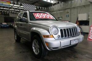 2006 Jeep Cherokee KJ MY05 Upgrade II Limited (4x4) 4 Speed Automatic Wagon Mordialloc Kingston Area Preview