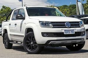 2014 Volkswagen Amarok 2H MY15 TDI420 4MOTION Perm Dark Label White 8 Speed Automatic Utility Myaree Melville Area Preview