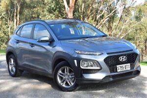 2017 Hyundai Kona OS MY18 Active 2WD Lake Silver 6 Speed Sports Automatic Wagon St Marys Mitcham Area Preview