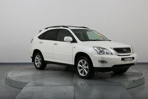 2007 Lexus RX350 GSU35R MY07 Sports Luxury White 5 Speed Sports Automatic Wagon Old Guildford Fairfield Area Preview