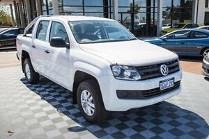 2016 Volkswagen Amarok 2H MY16 TDI420 4MOTION Perm Core Plus White 8 Speed Automatic Utility Alfred Cove Melville Area Preview