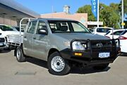 2010 Toyota Hilux TGN16R MY10 Workmate 4x2 Silver 5 Speed Manual Utility Midland Swan Area Preview