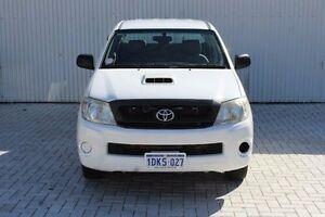 2010 Toyota Hilux KUN16R MY10 SR White 5 Speed Manual Utility Embleton Bayswater Area Preview